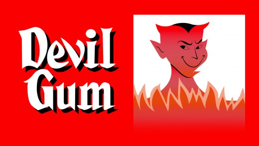 Buy and download Devil Gum cool fonts