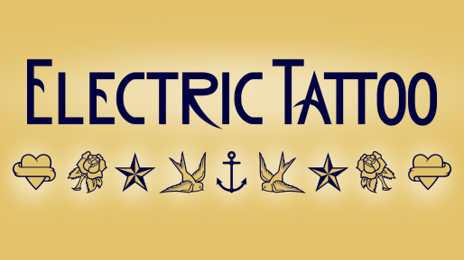 Buy and download Electric Tattoo cool fonts