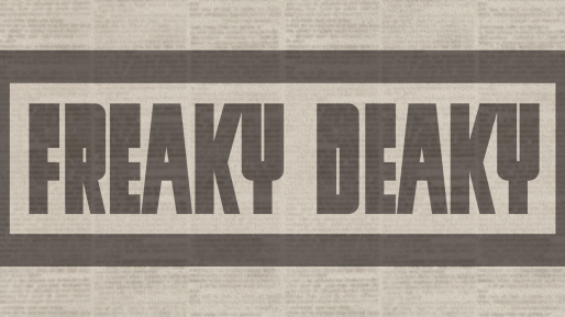 Buy and download Freaky Deaky cool fonts