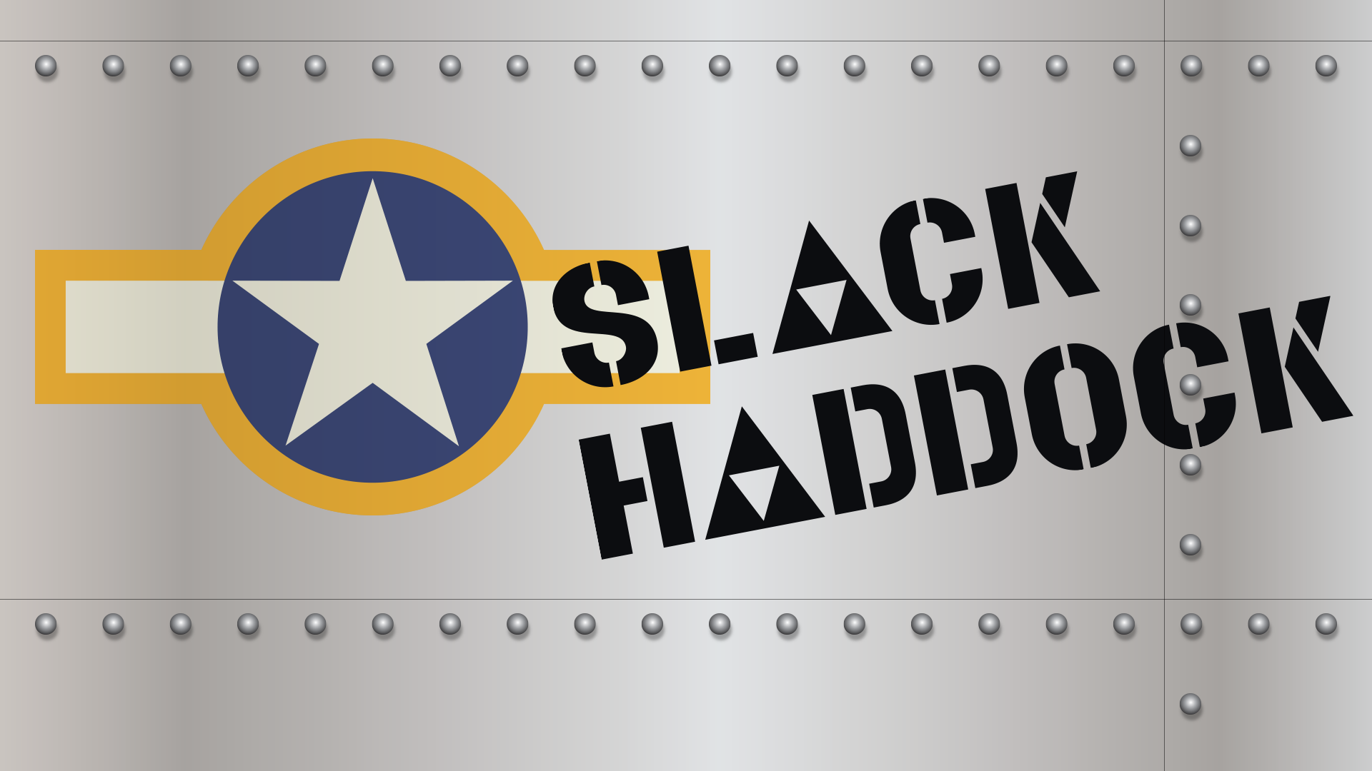 Buy and download Slack Haddock cool fonts