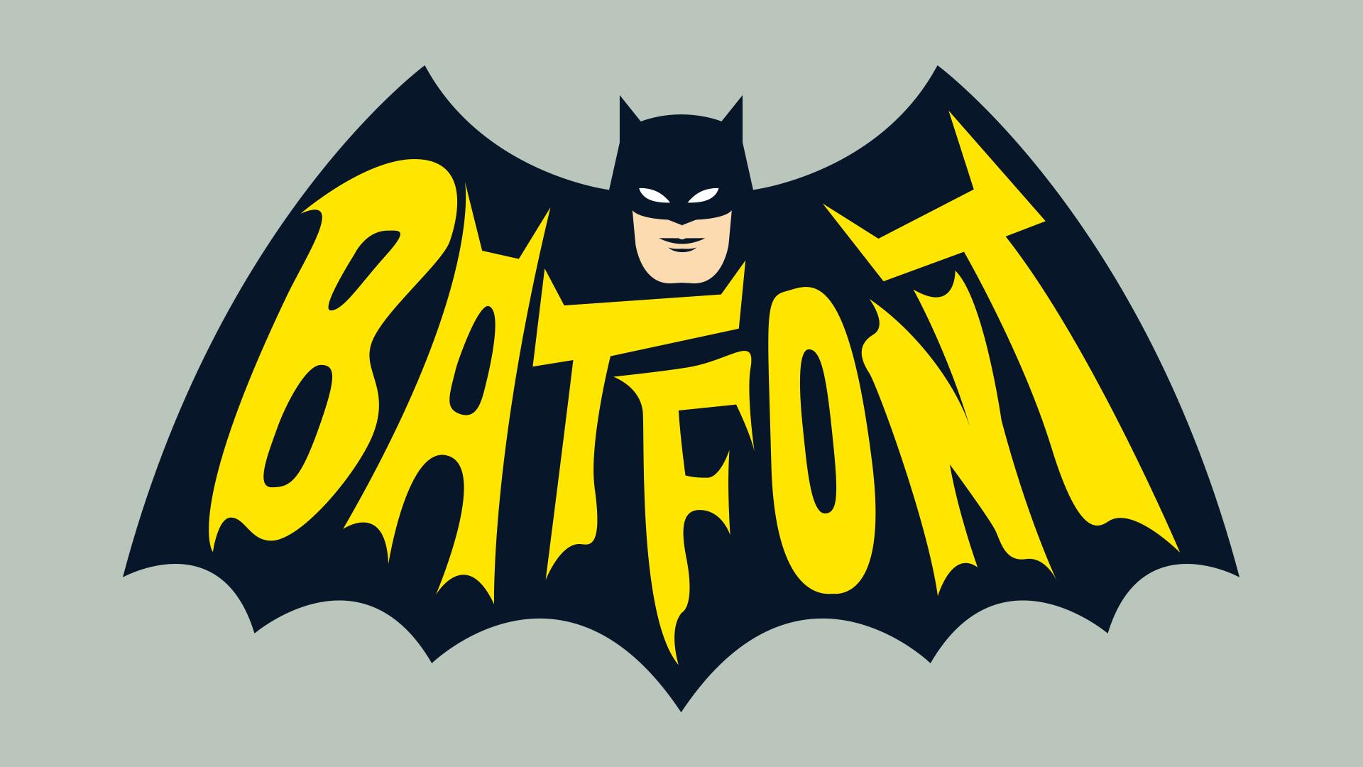Download Batfont cool free fonts