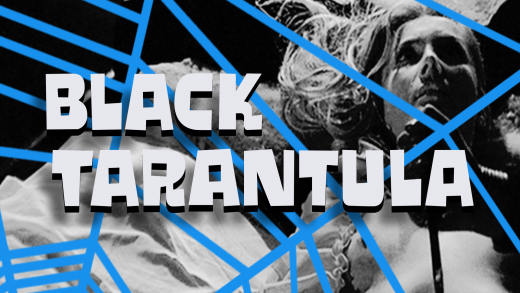 Download Black Tarantula cool free fonts