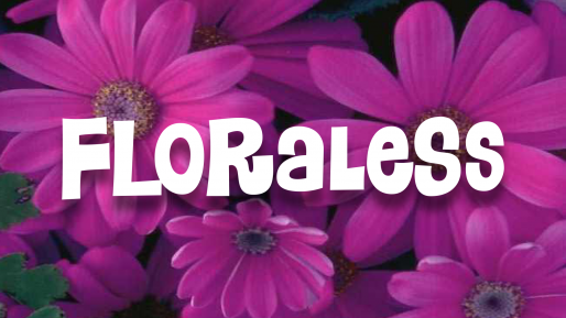 Download Floraless cool free fonts